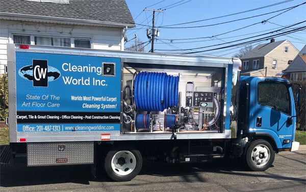 carpet cleaning truck NJ