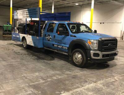 cleaning world NJ truck
