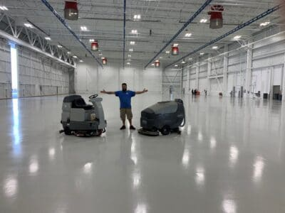 floor waxing services in New Jersey