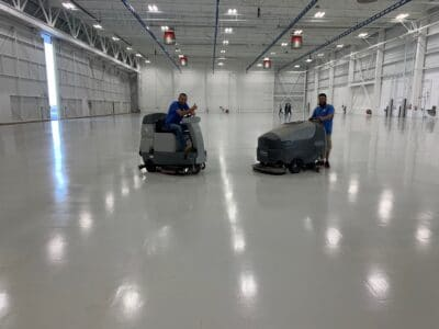 New Jersey floor waxing and buffing