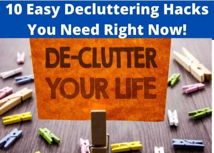 10 tips to declutter and stop hoarding