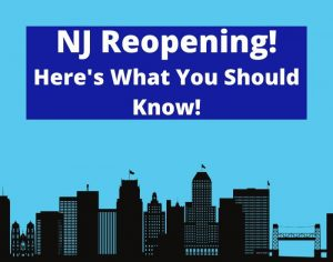 New Jersey NJ reopening