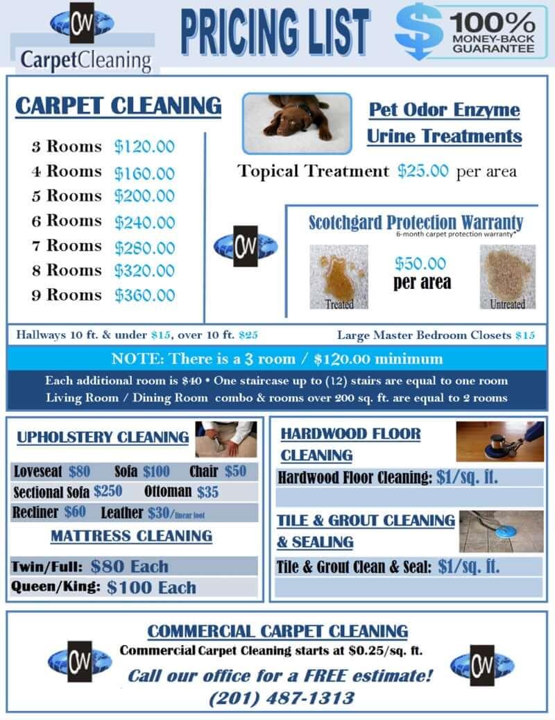 carpet cleaning Morristown NJ