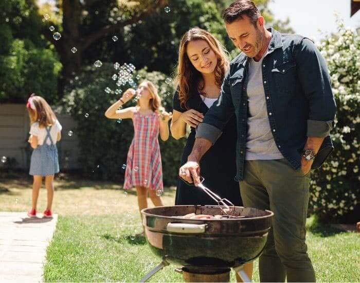 grilling food image