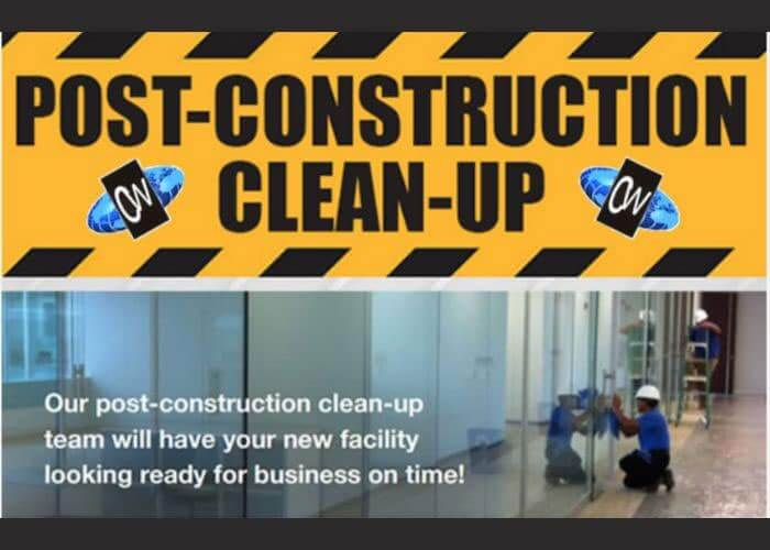 post construction cleaning NJ