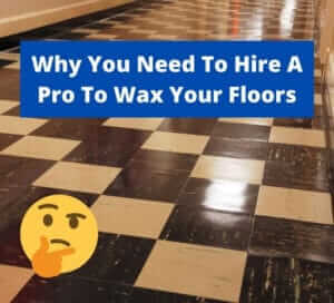 tips for waxing new jersey business floor