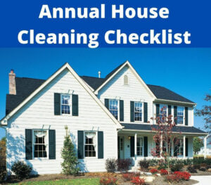 annual house maintenance checklist
