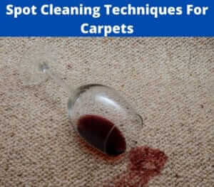spot cleaning techniques for your carpet