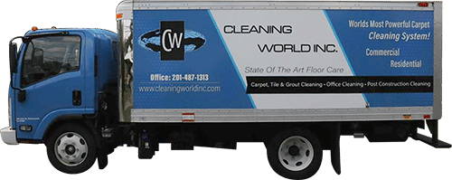 cleaning world truck image