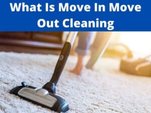 what is move in move out cleaning