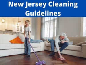 New Jersey cleaning guidelines