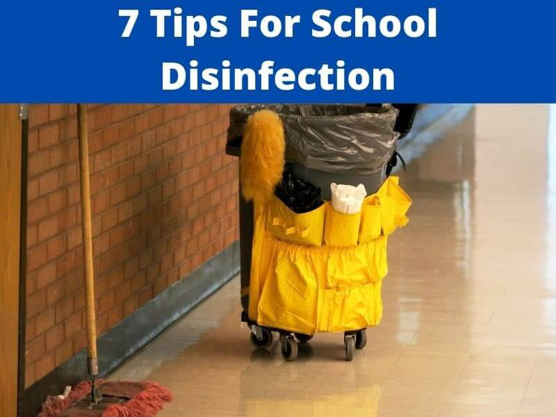 tips for school disinfection