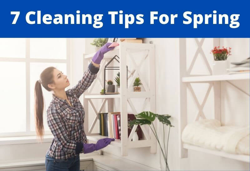 cleaning tips for spring