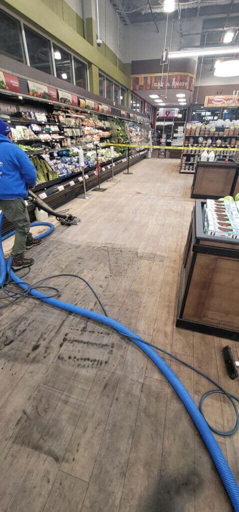 commercial carpet cleaning client in New Jersey