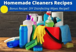homemade cleaners DIY recipes
