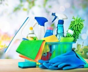 summer cleaning tasks