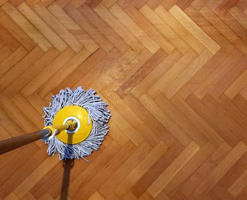 tips for wood floor cleaning