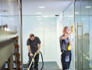What is commercial deep cleaning?